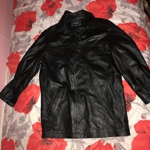 REAL LEATHER MEXX JACKET
